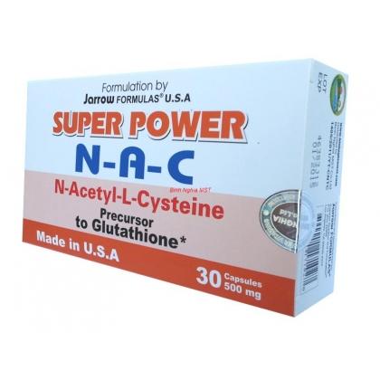 Thuốc bổ gan của mỹ super power N-A-C