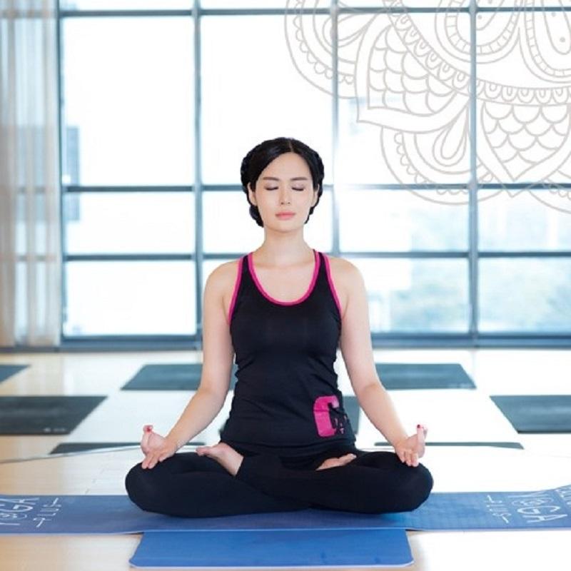 Hãy  thở ra hít vào đều đặn khi tập thể dục