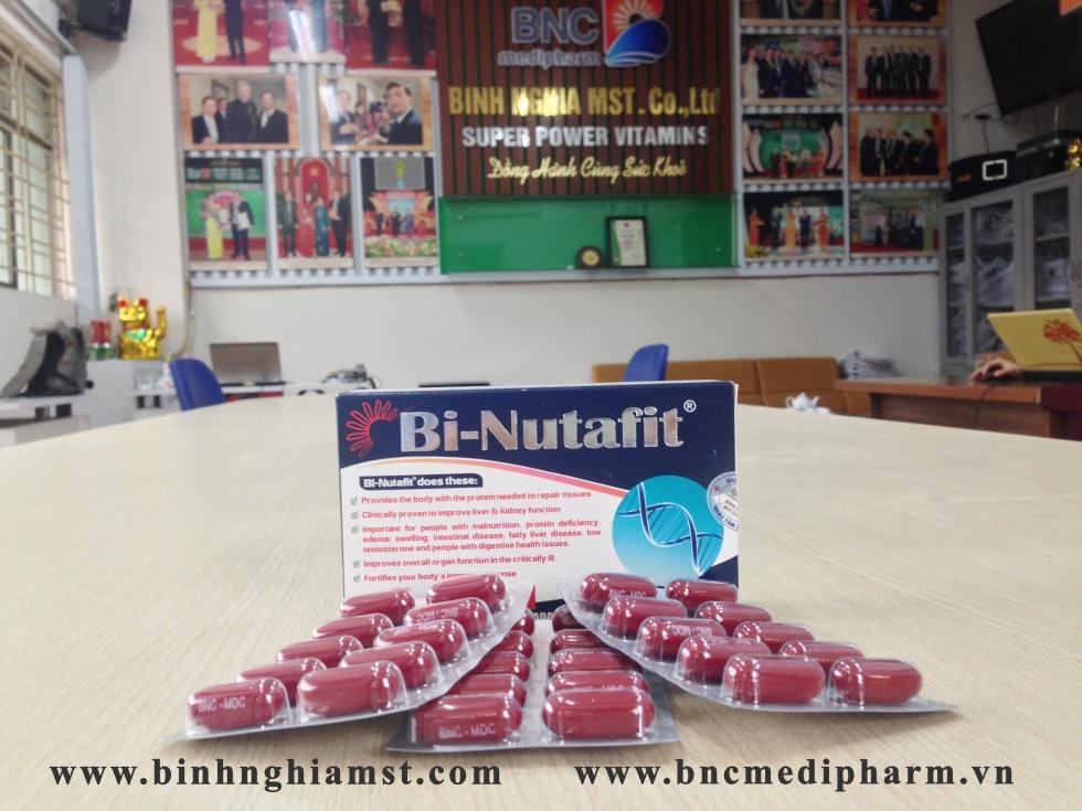Bi-Nutafit sản xuất tại Canada