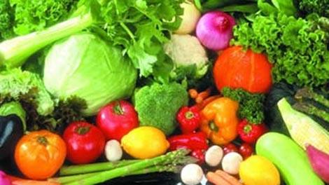 Hoa quả , rau xanh tốt cho bệnh nhân thoái hóa đốt sống cổ